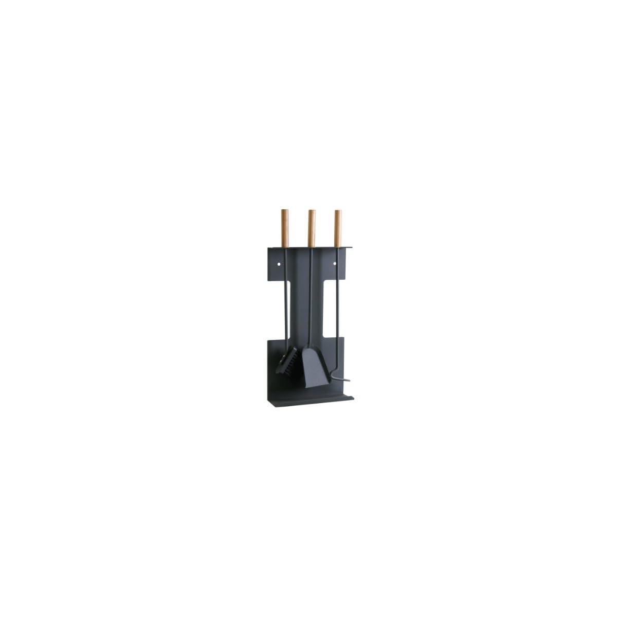 31Qgz%2B%2B0x6L. SS1200  - Kamino-Flam 337132 - Juego de 3 utensilios con mangos de madera, para chimenea