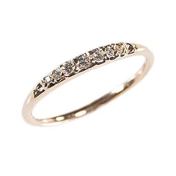 "Roségold Verlobungsring""Fabulous"" mit 7 Diamanten aus Fairtrade Gold"