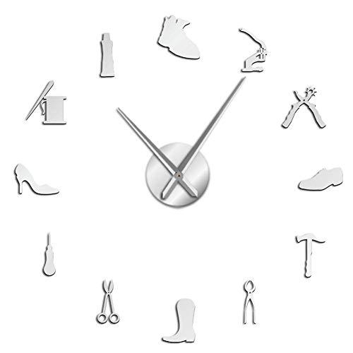 Zapatería Zapatero Herramienta Profesión DIY Reloj