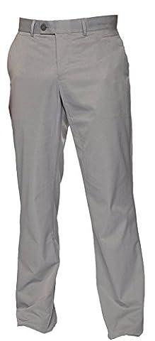 Hochwertige lange TOMMY HILFIGER Herren Golfhosen Gr. 54 Cloudburst gerader Schnitt mit Logo sportlicher Look vordere und hintere Taschen