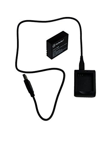 TecTecTec Batterie, Chargeur et câble pour XPRO3