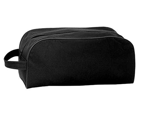 HAC24 10er Set Schuhtasche schwarz | Schuhbeutel Sporttasche | Reisetasche für Schuhe