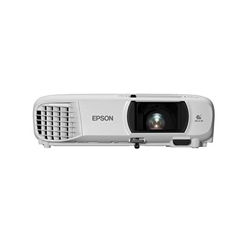 31Qh5zzHehL. SS500  - Epson EH-TW650 3LCD, Full HD, 3100 Lumens, 300 Inch Display, Wi-Fi, Gaming & Home Cinema Projector - White