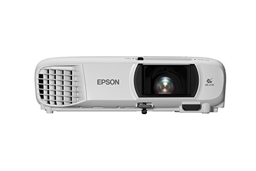 Epson EH-TW650 Full HD 3100 Lumens Wi-Fi Gaming and Home Cinema Projector - White