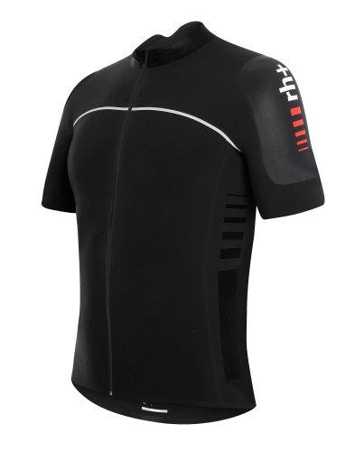 Zerorh Men s Cycling Jersey Short Sleeved PW Dry Skin Black black Size Large 476e9cd76