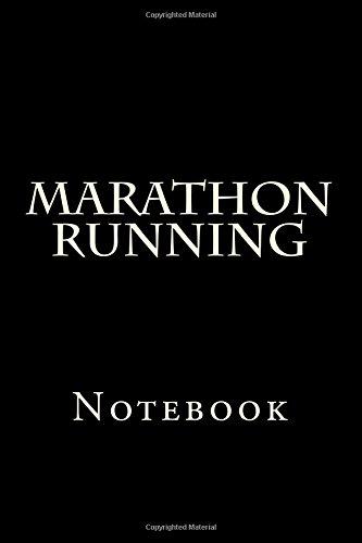 Marathon Running: Notebook por Wild Pages Press