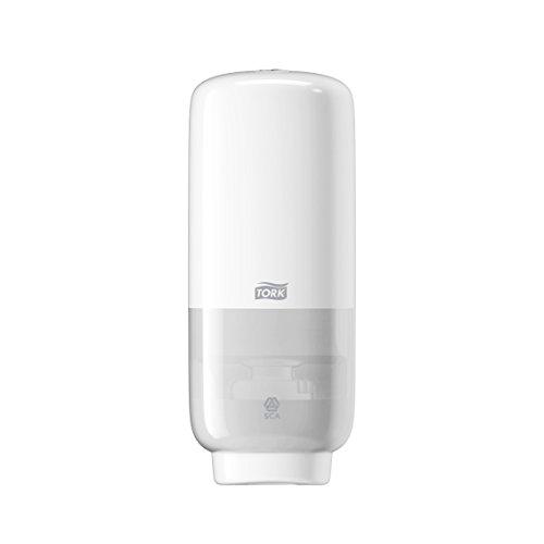 Tork 561600 Sensorspender für Schaumseife S4 / Weißer Seifenspender in modernem Elevation Design