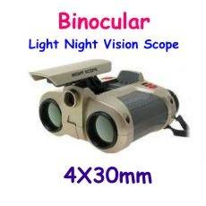 Night Scope Binocular with Pop-Up Light