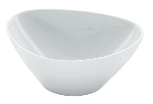 Alessi Fm10/54 H Colombina Collection Coupelle Haute en Porcelaine Blanche, Set de 6 Pièces