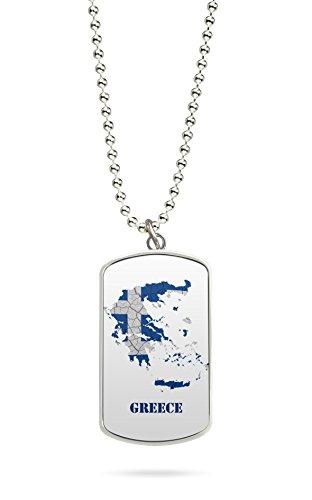 Kette Dog Tag Anhänger Griechenland Athen 5