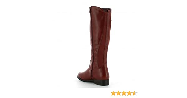 Ideal Cuir Shoes Bottes cavalières Aspect cloutées avec 80wkOnP
