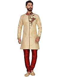 c8146b6153 Silk Men's Sherwani: Buy Silk Men's Sherwani online at best prices ...