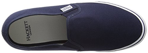 HACKETT LONDON Herren Bamba Slip On Slipper Blau (Navy)
