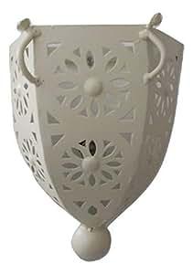 Etnico Arredo Applique da Muro Lampada Lanterna in Ferro battuto Marocco Stile Arabo MOROCCHINA Etnica 2911181413