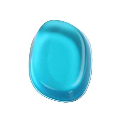 Silicone Maquillage LuckyFine Éponge Maquillage, Houppettes à poudre, Facilite l'application de votre Maquillage avec 6 Couleurs