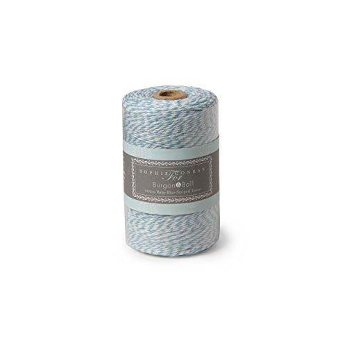 200 m bleu et blanc ficelle – Utilisation comme Ficelle ou Emballage Cadeau