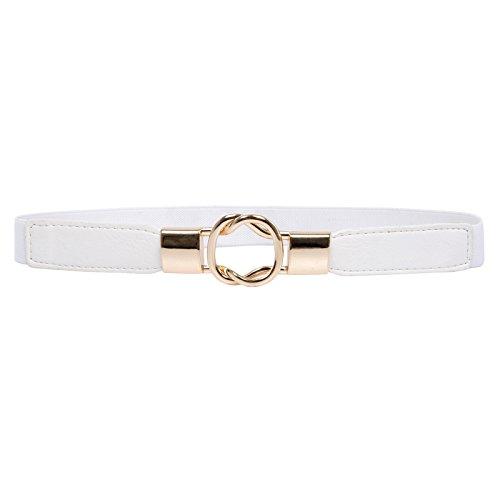 Damen Guertelschnallen Waist Belts X-Large CL010621-2 (Hüft Leder Gürtel)