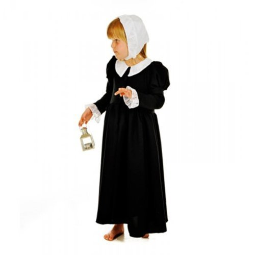 Florence Nightingale (Black) - Kids Costume 7 - 9 years by A2Z Kids