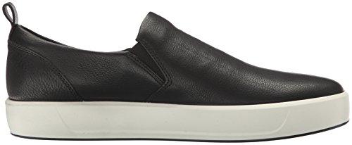 Ecco Herren Soft 8 Men's Sneakers Schwarz (1001BLACK)