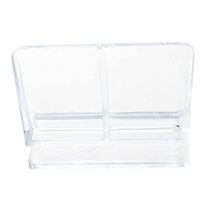 TOOGOO (R) Aquarium Fish Tank Glass Cover Clip Support Holder, 6 mm, Pack of 4 3