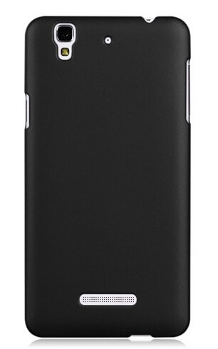 WOW Imagine(TM) Rubberised Matte Hard Case Back Cover For Micromax YU Yureka / Yureka Plus (Black)