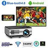 LED LCD HD Video Projecteur Multimédia HD Home Entertainment Proyectors avec HDMI USB TV VGA AV Support 1080p 720p 1500lumen Mini Wireless Projector
