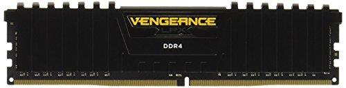 Corsair Vengeance LPX 32GB (4x8GB) DDR4 2666MHz C16 XMP 2.0 High Performance Desktop Arbeitsspeicher Kit, schwarz