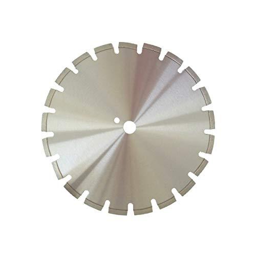Diamanttrennscheibe Trennscheibe AS4_Ø 400 mm, B= 20,0 mm, Diamantscheibe mit Segmente 10 mm Lasergeschweißt & mit Diamant Stammblattschutzsegmente, Asphalt, Estrich, abrasive Baustoffe,