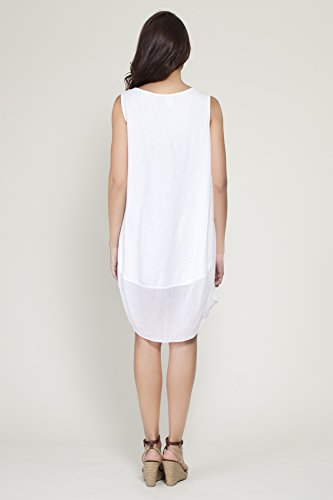 TANTRA Dress9667, Robe Femme Blanc