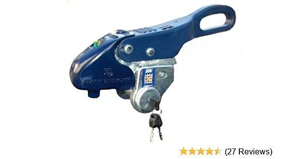 Alko Stronghold Sold Secure Towing Hitch Trailer Caravan Lock Ultra Strong