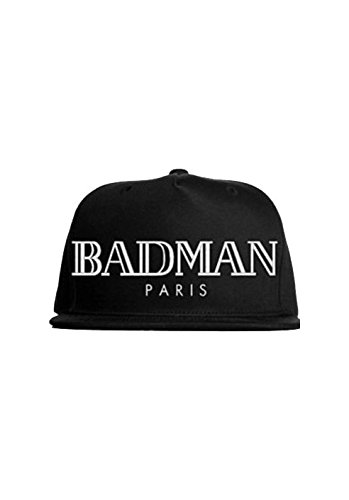 Magic Custom - Snapback Cappello Badman Paris nero taglia unica