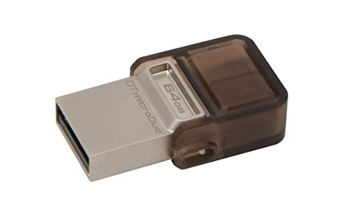Kingston DataTraveler MicroDuo USB 3.0 64GB Pen Drive (Brown)