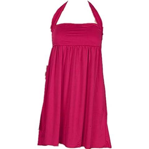 Vovotrade Las mujeres de la manera atractiva envuelta push-up vestido pecho