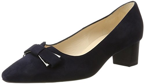 Peter Kaiser Damen Birthe Pumps, Blau (Navy Suede Carbon Dala), 42 EU