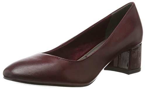 Tamaris Damen 22306 Pumps, Rot (Merlot), 38 EU