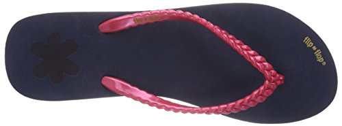flip*flop slim layer, Infradito donna Multicolore (Mehrfarbig (032 deep night))