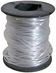 Babysbreath 0.8mm Nylon Transparente Línea De Pesca Spool Beading Cuerda Invisible Fishing Thread