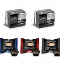 3x50 capsule borbone don carlo degustazione 50 nera, 50 blu e 50 red compatibili a modo mio