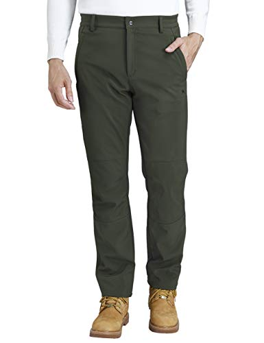 CAMEL CROWN Pantalones Trekking Acampada Impermeables