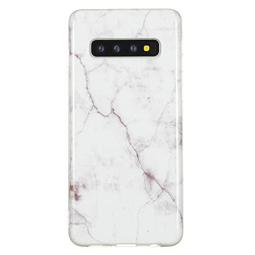 Klar Kristal Bling TPU für Samsung S10,Clear Transparent Sparkle Glitter Kreative icht Durchsichtiges Soft-Flex Gummi Gel Ultra Dünn Slim Flexible Weiche TPU Silikon Gomma Schutz Hülle (Gel-fällen Für Samsung-tablets)