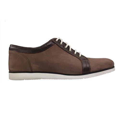 MANZ - ION Strobel G - Herren Halbschuhe - Braun Schuhe in Übergrößen Braun