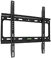Gadget Wagon I-Tek Fixed LED/LCD TV Wall Mount Bracket For 26 To 55 inch Flat Panel TV (Black)