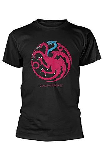 Offizielles Game of Thrones Unisex T-Shirts - Ice Dragon, XXXL (Ice King Kostüm)