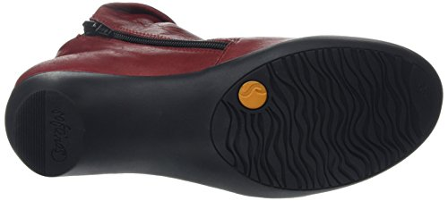 Softinos  Farah, Bottes Classiques femme Rouge - Red (Red (Black Sole))
