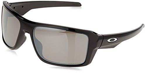Oakley Herren Sonnenbrille Double Edge Schwarz (Negro) 66