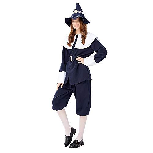Hunter Kostüm Vampire - kMOoz Halloween Kostüm,Outfit Für Halloween Fasching Karneval Halloween Cosplay Horror Kostüm,Halloween Dschungeljäger Cosplay Party Pack Hunter Kleid Bühnenkostüm