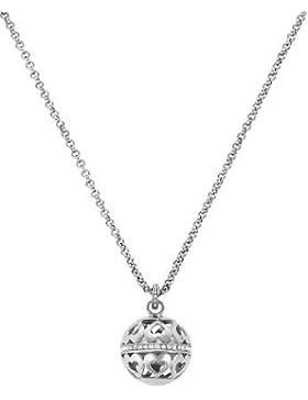 JETTE Silver Damen-Kette MAGIC BOWL 925er Silber 49 Zirkonia silber, One Size
