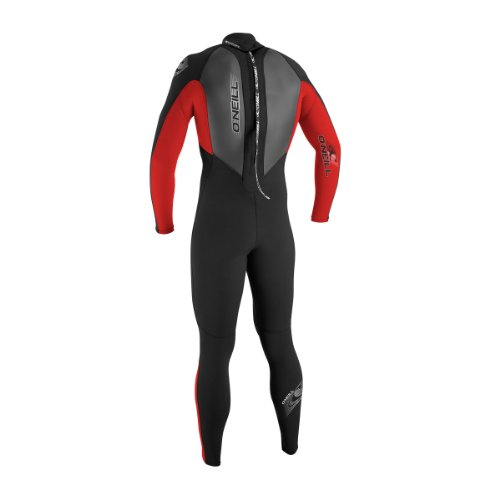 O'Neill Wetsuits Jungen Neoprenanzug youth reactor 3/2 full R93 BLK/RED/GRAPH