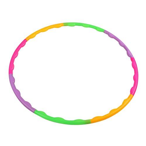 TOYMYTOY Kinder Hula Hoop Reifen flexibel Hoop für Kinder Fitness Sport Übung 65cm