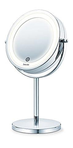 Beurer BS-55–Miroir cosmétique, couleur argent